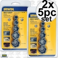 Irwin 394002 2x 5pc Bolt-Grip Expansion Set