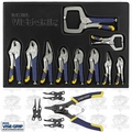 Irwin Vise Grip 1078TRT Fast Release Locking and Snap Ring Pliers Set