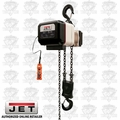 JET VOLT-500-03P-10 3PH 460V 10' LIFT VOLT 5T Var Spd Electric Chain Hoist
