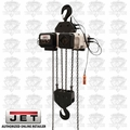 JET VOLT-1000-03P-15 3PH 460V 15' LIFT VOLT 10T Var Spd Electric Chain Hoist