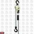 JET 235010 1.6 Ton LEVER Hoist 10' Lift and Ship Yard Hooks