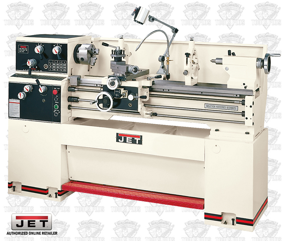 JET 321830 GH-1440W-1 3 HP, 1 PH, 230 V Geared Head Lathe