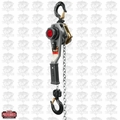 JET 376200 JLH Series 1 Ton Lever Hoist, 5' Lift with Overload Protection