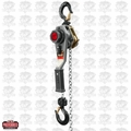 JET 376203 JLH Series 1 Ton Lever Hoist, 20' Lift with Overload Protection