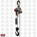 JET 376300 JLH Series 1-1/2 Ton Lever Hoist 5' Lift with Overload Protection