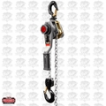 JET 376302 JLH Series 1-1/2T Lever Hoist, 15' Lift with Overload Protection