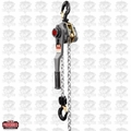 JET 376500 JLH Series 3 Ton Lever Hoist, 5' Lift with Overload Protection