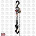 JET 376600 JLH Series 6 Ton Lever Hoist, 5' Lift with Overload Protection