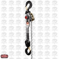JET 376603 JLH Series 6 Ton Lever Hoist, 20' Lift with Overload Protection