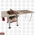 "JET 708493K 10"" Proshop Tablesaw + 52"" Fence, Steel Wings w/Knife"