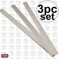 "JET 708814 Set of 3 Replacement Knives for 16"" Planers"