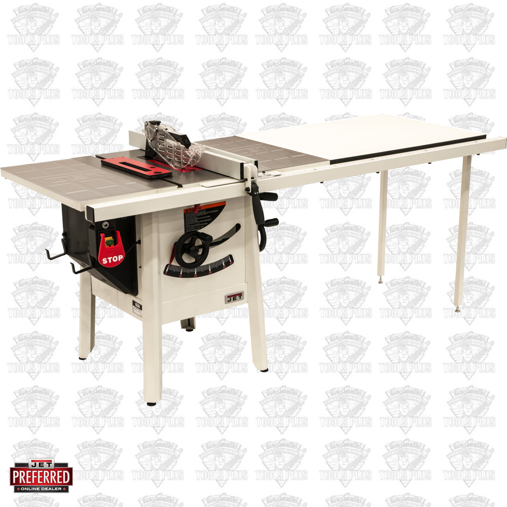 Jet 725005k Proshop Ii Table Saw 115v 52 Quot Rip Stamped Steel