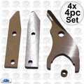 Kett 102 4x 4pc Replacement Blade set Genuine Kett