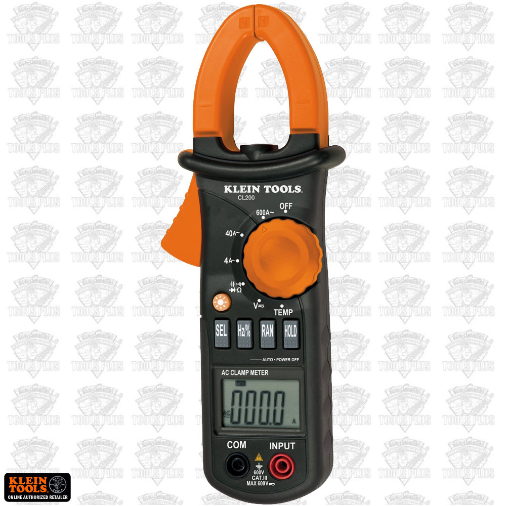 Clamp Meter How Much : Klein cl a ac clamp meter with temperature