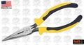 "Klein J203-7 7-5/8"" Journeyman Long Nose Pliers"