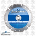 "Lackmond EDH141251 14"" x .125 x 1"" Dry Cut Diamond Blade Masonry"