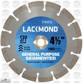 "Lackmond SG4.5SPP 4-1/2"" x .080"" x 7/8""-20mm-5/8"" Segmented Diamond Blade"