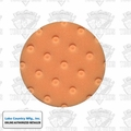 "Lake Country 78-24400-1 4"" Orange CCS Spot Buffs Foam Pad"
