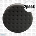 "Lake Country 78-7165-152M 2pk 6-1/2"" Black CCS Auto Buffing Pad"
