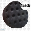 "Lake Country 78-74400 4pk 4"" Black CCS Spot Buffs Foam Pad"