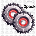 Lancelot 45814 2pk 14 Tooth Chain & Disc