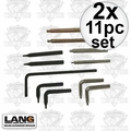 Lang Tools 14 2x 11pc Snap Ring Plier Replacement Tip Set Formerly Hi-Tech