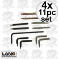 Lang Tools 14 4x 11pc Snap Ring Plier Replacement Tip Set Formerly Hi-Tech