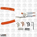 Lang Tools 75 Reversable Large Snap Ring Pliers with Replaceable Tips