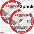 "Lenox 1972921 2pk 4-1/2"" x 7/8"" Metal Max Diamond Saw Blade"