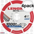 "Lenox 1972921 4pk 4-1/2"" x 7/8"" Metal Max Diamond Saw Blade"