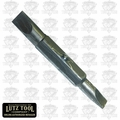 "Lutz 21102 1/4"" Slotted x 3/16"" Slotted Bit"