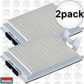 Makita 123636-9 2x HEPA Filter for XCV05