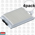 Makita 123636-9 4x HEPA Filter for XCV05