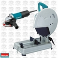 "Makita 2414NBX2 14"" 15 Amp 3800 RPM Portable Cut-Off Chop Saw + Grinder"