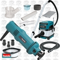 Makita 3706 5 Amp Drywall Cut-Out Tool Kit w/HEPA Vac Dust Collector