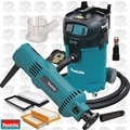 Makita 3706 5 Amp Drywall Cut-Out Tool w/HEPA Vac Dust Collector