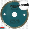 "Makita 724950-8D 4pk 3-3/8"" Wet/Dry Diamond Saw Blade"