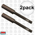 "Makita 751101-A 2pk 1-3/4"" X 14-1/2"" Spike/Pin Rod Driver 1-1/8"" Hex Shank"