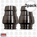 "Makita 763643-6 2x 1/2"" Replacement Router Collet Sleeve"