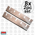 "Makita 793186-4 8x 2pk 6-3/4"" Replacement Planer Blades Makita for 1806B"