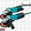 Makita 9558PB 2pk 7.5 Amp Motor 5-Inch Angle Grinder with Paddle Switch