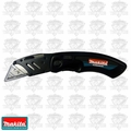Makita 999KNIFE Folding Utility Knife plus 5 pack of replacement blades