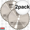 "Makita A-90629 2pk 7-1/2"" x 40 Tooth Carbide Tipped Saw Blade"