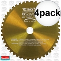 "Makita A-90685 4pk 6-1/4"" 46 Tooth Metal Cutting Saw Blade with 5/8"" Arbor"