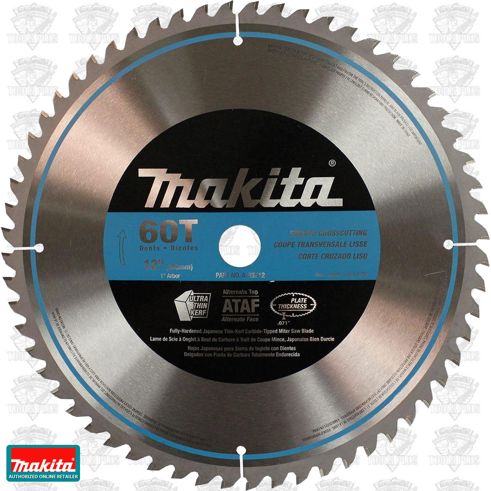 Makita a 93712 12 x 60 tooth quiet carbide circular saw blade keyboard keysfo Image collections