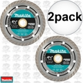 "Makita A-94552 2pk 4-1/2"" Turbo Rim Diamond Masonry Blade"