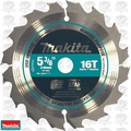 "Makita A-94904 5-3/8"" 16 Tooth Carbide-Tipped Circular Saw Blade"