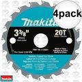 "Makita A-95021 4pk 3-3/8"" x 20 Tooth Carbide Circular Saw Blade"