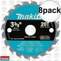 "Makita A-95021 8pk 3-3/8"" x 20 Tooth Carbide Circular Saw Blade"