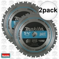 "Makita A-95037 2pk 5-3/8"" 30T Carbide-Tipped Metal Cutting Blade"